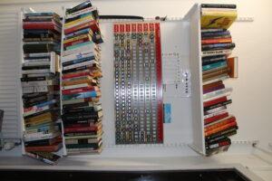 biblioteket vid tvättstugan